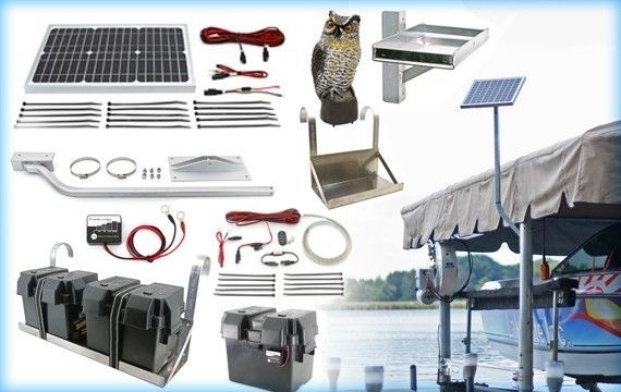 Boat Lift Solar Charging Kits