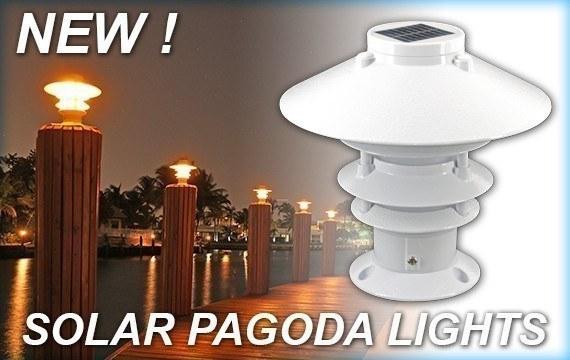 New Solar Pagoda Piling Lights